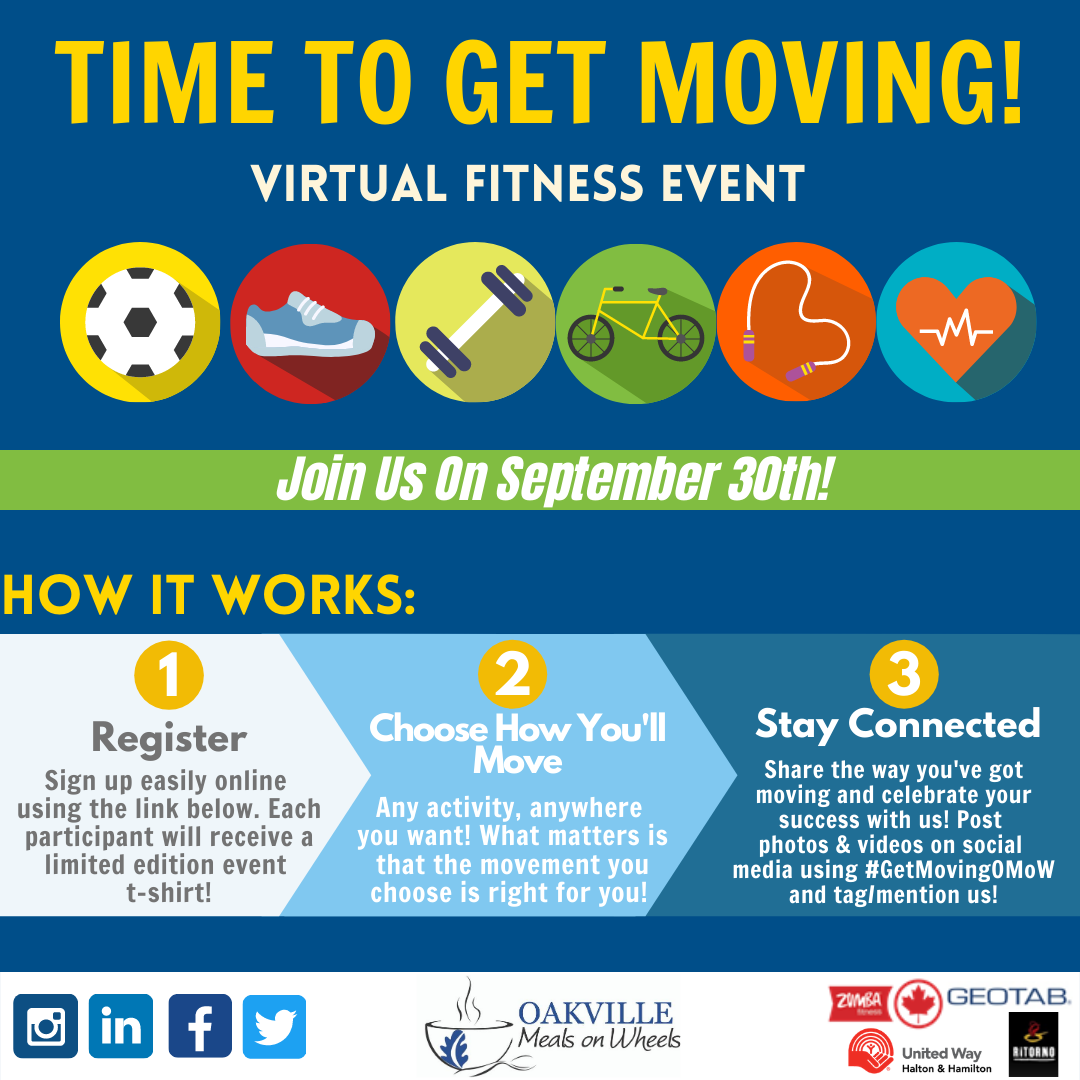 Time To Get Moving Virtual Fundraiser